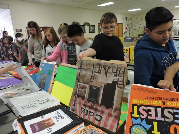 Our Annual Reading Fair is a school wide event that encourages reading, family involvement, and creativity.