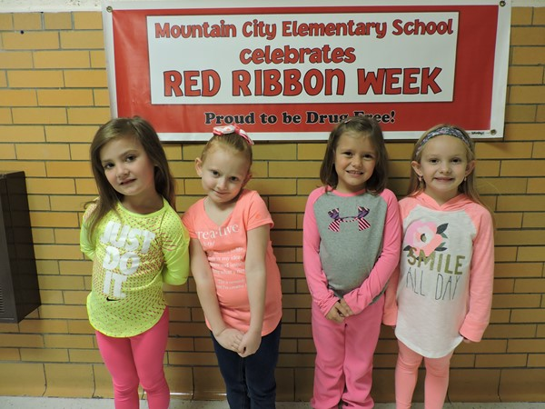 Red Ribbon week encourages students to make smart choices when it comes to drug and alcohol use.