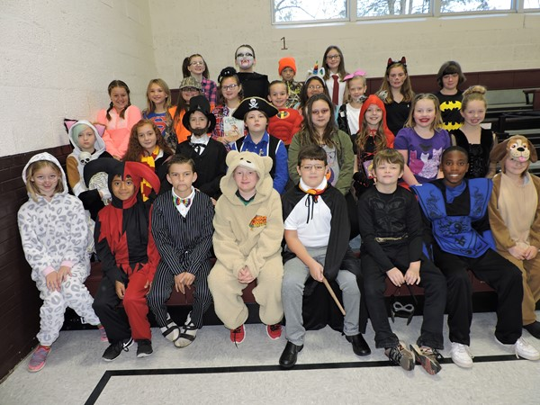 Students dress as their favorite storybook character.
